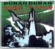 DURAN DURAN Burning The Ground Rare & Original UK CD Maxi Single