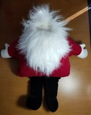 "Ho! Ho! Ho! Christmas Plush Stuffed Windup Santa Plays ""Deck The Halls"""