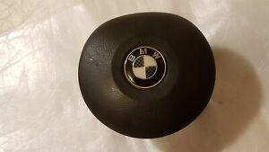 BMW 3 5 X5 SERIES E39 E46 E53 DRIVER STEERING WHEEL A/BAG COVER 33109680803X