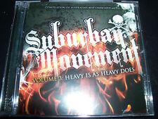 Suburban Movement Vol 3 Australian Best Unsigned Metal Various CD