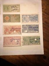 Indian Court Fee Stamps-Jodhpur-Junagadh-Karauli States Good condition