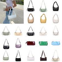 Women Totes Bags Retro Clutch Handbag Elegant PU Shoulder Shopping Messenger Bag