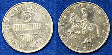 AUSTRIA 5 SCELLINI SCHILLING 1972 #6335