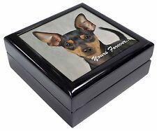 Miniature Pinscher 'Yours Forever' Keepsake/Jewellery Box Christmas G, AD-MP1yJB