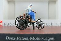 Busch 40007 Benz-Patent-Motorwagen (1886) mit Bertha Benz 1:87/H0 NEU/OVP
