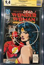 BRIAN BOLLAND SIGNED CGC 9.4 SS WONDER WOMAN #78 COMIC NOT CBCS BATMAN SUPERMAN