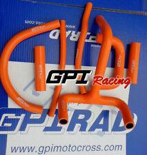 SILICONE RADIATOR HOSE Kit FOR KTM LC4 620 625 640 660 ORANGE