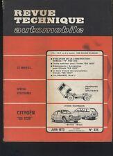 (169B) Revue technique automobile Citroën GS 1220 / Peugeot 504L / Utilitaires