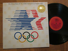 The Official Music Of The XXIIIrd Olympiad 1984 Herbie Hancock Philips LP