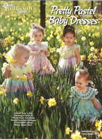 Pretty Pastel Baby Dresses Carol Smith Crochet Patterns The Needlecraft Shop