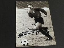 Rainer Zobel Hannover 96 In-person Signed Photo 10x15