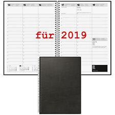 Brunnen Buchkalender 2019 DIN A4 1Wo=2Sei Spiralbindung 10-78101 Kalender 2019