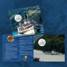 Schweiz - Dampfschiff Blümlisalp - 20 Franken 2019 BU Coincard - Silber