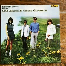 Throbbing Gristle ‎LP 20 Jazz Funk Greats D.o.A. Third And Final Report misprint