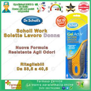 Dr Scholl Gel Activ Professional Work NUOVA FORMULA Solette Da Lavoro Donna