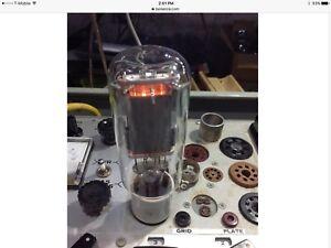 2 pair Svetlana Factory Platinum Matched 4 Power Triode Tubes SV572-160