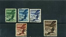 AUSTRIA,BIRDS-AIRPLANE PASSING CRANE   1925/30  RARE