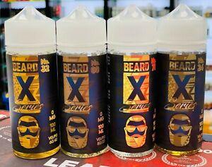 BEARD X Series 100ML Vape E Liquid E Juice 0MG Premium E Liquid Authentic