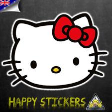 Sanrio Hello Kitty Luggage Bumper Bike Skateboard Guitar Decal Vinyl Sticker