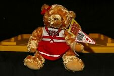 High School Musical the Ice Tour Stuffed Plush Cheer Bear Red and White Outfit