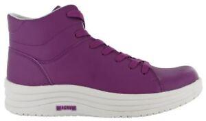 Magnum Flora Womens Waterproof Ladies Purple Pink Work Shoes Boots 4-8