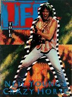 NEIL YOUNG / CRAZY HORSE 1987 LIFE TOUR CONCERT PROGRAM BOOK BOOKLET / NMT 2 MNT