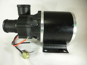 High Temp Brushless Variable Speed DC Water Pump 4.2 AMP 24 VDC 50 LPM HP5000
