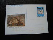 ITALIE - carte entier non oblitere 1990 (cy33) italy