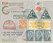 FIRST FLIGHT : MULLER #210 - NETHERLANDS  SURINAME  CURACAO - SIGNED by PILOT