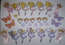 BULK EMBROIDERY Iron or Sew on FAIRY SPARKLE BUTTERFLY MOTIF MEND PATCH APPLIQUE