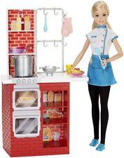 Barbie Spaghetti Chef Doll & Playset - DMC36