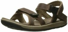 NIB BOGS Women's Rio Leather Sandal Athletic, Dark Brown Size 8 US FREE SHIPPING