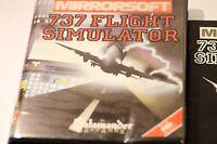 RARE SONY MSX GAME 737 FLIGHT SIMULATOR BY MIRRORSOFT 1984  BIG BOX GAME