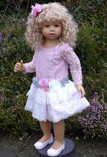 """Masterpiece Dolls * Cassi * Blonde Hair * 34 """" Vinyl Doll * by Monika Levenig"""