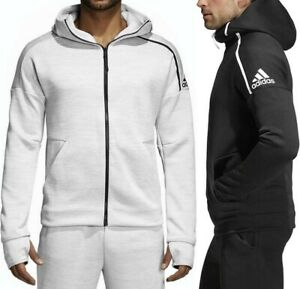 Adidas ZNE Hoody Herren Kapuzen Jacke Trainingsjacke Sport Fußball DFB Laufjacke