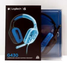 Logitech G430 Gaming Kopfhörer, blau