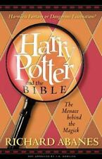 HARRY POTTER AND THE BIBLE Richard Abanes VERY GOOD CONDITION BOOK