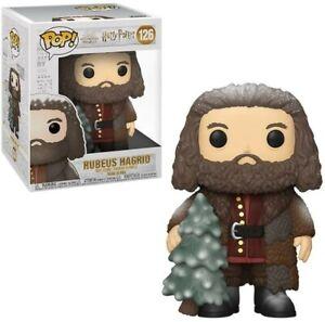 "Funko - POP Harry Potter: Holiday - 6"" Hagrid w / Tree Brand New In Box"