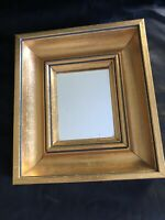 Vintage Mirror By España Gold Frame Decorative Hand Made In Spain Original Owner