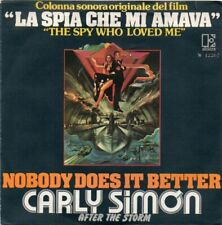 RARO 45 GIRI - Carly Simon / nobody does it better - after the storm