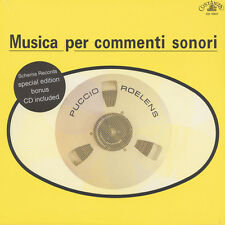Puccio ROELENS-Musica per commenti sonori (VINILE LP + CD - 1979-EU-REISSUE)