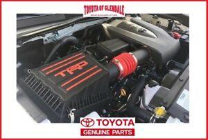 2016-2021 TOYOTA TACOMA V6 3.5L TRD PERFORMANCE AIR INTAKE GENUINE PTR03-35160