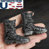 1/6 Wolverine Tactical Military Combat Boots For Hot Toys PHICEN Male Figure USA