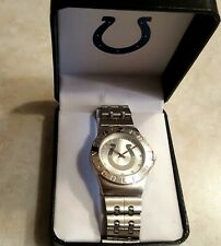 INDIANAPOLIS COLTS Mens Watch Steel Band Gametime Engraved Team Logo New Box