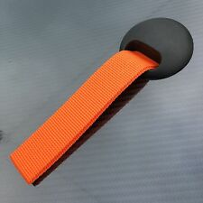 Door pulls Race Rally Motorsport Drift Car handle grab straps pair ORANGE