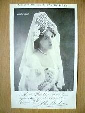 Postcards of Edwardian Theatre & Opera Stars- A. BONHEUR by Vin Desiles