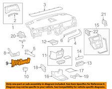 TOYOTA OEM 15-16 Sienna Instrument Panel Dash-Lower Trim Panel 5543208020B1
