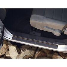 2007-2017 Jeep Wrangler 4-Door Sill Guards Black Plastic Mopar OEM 82210106AB