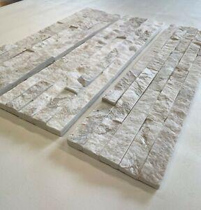 1 Muster Marmor Natursteinwand Wandverblender Riemchen Echtstein Fliesen 47€/m²