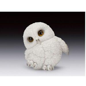 Snowy Owl Chick Figurine